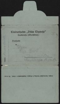 "Carlsruhe (Oberschles.) : Kinderheim ""Villa Therese"""