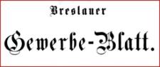 Breslauer Gewerbe - Blatt, 1856