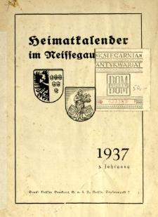 Heimatkalender im Neissegau, 1937