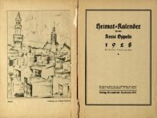 Heimatkalender für den Kreis Oppeln, Jg.3