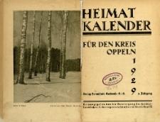 Heimatkalender für den Kreis Oppeln, Jg.4