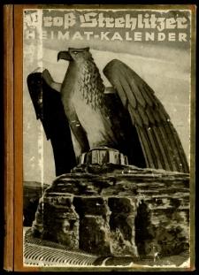 Groß Strehlitzer Heitmatkalender für das Jahr 1940