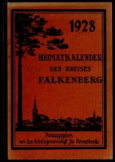 Heimatkalender des Kreises Falkenberg, 1928