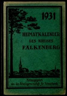 Heimatkalender des Kreises Falkenberg, 1931