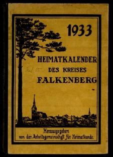 Heimatkalender des Kreises Falkenberg, 1933