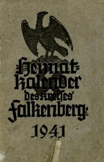 Heimatkalender des Kreises Falkenberg, 1941