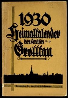 Heimatkalender des Kreises Grottkau, 1930