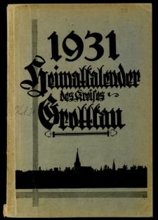 Heimatkalender des Kreises Grottkau, 1931