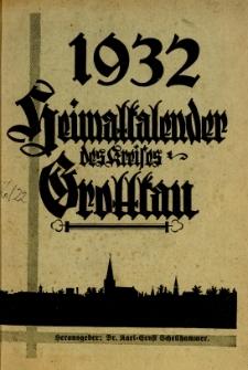 Heimatkalender des Kreises Grottkau, 1932