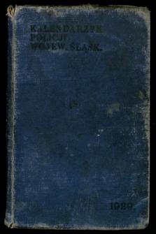 Kalendarzyk Policji Województwa Śląskiego, 1928