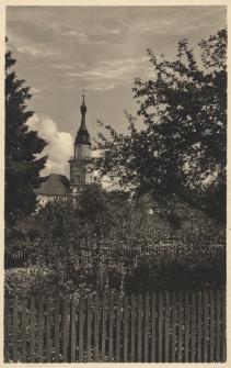 Bad Carlsruhe i. Schles. : Blick auf die evangelische Kirche