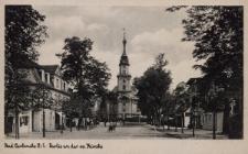 Bad Carlsruhe O.-S. : O.S. : Partie an der ev. Kirche