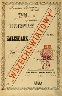 Wielki Ilustrowany Kalendarz Wszechświatowy na rok 1912