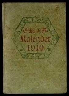 Eichendorff Kalender für das Jahr 1910