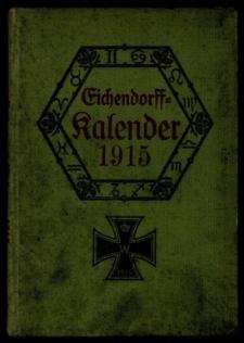 Eichendorff Kalender für das Jahr 1915