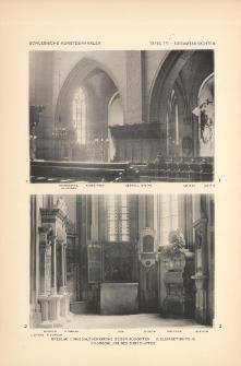 Tafel 171 Gesamtansichten : Breslau Magdalenenkirche gegen Südosten, Elisabethkirche Chorschluss des Südschiffes