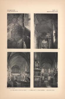 Tafel 178 Gesamtansichten : Prausnitz Hatzfeld-Gruft ; Landeshut K. Pfarrkirche ; Glogau Dom