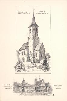 Tafel 181 Gesamtansichten : Hermsdorf O.L. ; Rosenberg O.S. Annenkirche