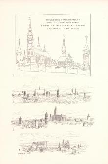 Tafel 185 Gesamtansichten : Gleiwitz nach altem Bilde ; Neisse ; Patschkau ; Ottmachau