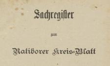 Ratiborer Kreisblatt, 1894, NR 1-10, 12-52
