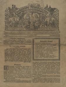 Posłaniec Niedzielny dla Dyecezyi Wrocławskiej : zarazem Organ Związku Świętej Rodziny, 1919, nr 1-8, 9-36, 38-50, 52