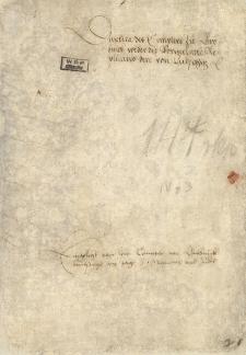 Acta des Magistrats in Leobschutz