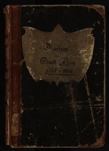 Diarium der Stadt Brieg 1565-1728