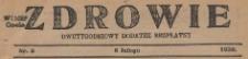 Zdrowie, 1925, nr z 18.10, 1.11, 15.12