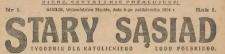 Stary Sąsiad : tygodnik dla katolickiego ludu, 1924, nr 1