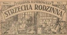 Strzecha Rodzinna : tygodnik ilustrowany, 1924, nr 1