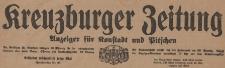 Kreuzburger Zeitung : Anzeiger für Konstadt und Pitschen, 1921, 19, 29-31, 35-36, 43-44, 47