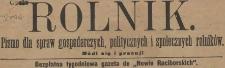 Rolnik : bezpłatny tygodniowy dodatek [do Katolika], 1906, nr 39