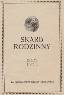 Skarb Rodzinny, 1933, nr 1-2, 9-10, 12