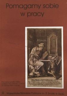 Pomagamy Sobie w Pracy : opolski kwartalnik informacyjno-metodyczny, 2000 - prawo dla bibliotekarzy