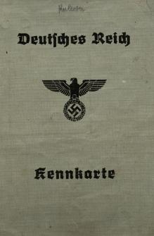Deutsches Reich Kenkarte Kulessa Margarita....Nr 0000269/ Podpis : Polizeimester