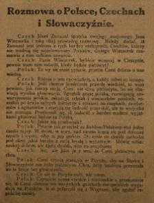 Rozmowa o Polsce, Czechach i Słowaczyźnie