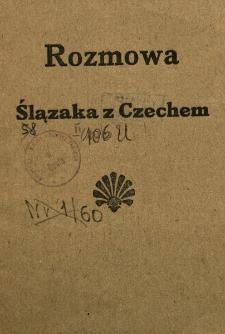 Rozmowa Ślązaka z Czechem