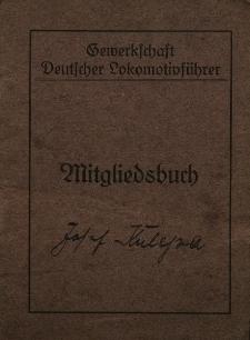 Mitgliedsbuch für Herrn Kulessa Josef