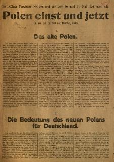 Polen einst und jetzt