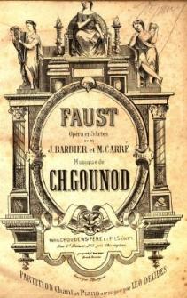 Faust : opera en 5 actes