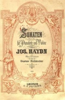 Sonaten für Pianoforte und Violine