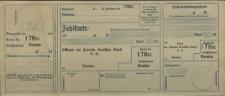 Zahlkarte - Bund der Freunde Deutscher Kunst e.V., Breslau