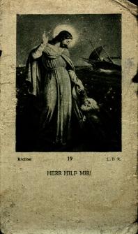 Andenken an das erste hl.Messopfer des Priesters Rudolf Wilczek am 25.April 1922 in der Pfarrkirche zu Szczedrzik