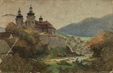 Błogocice : widok na kościół w Błogocicach