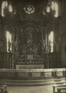 Bolesławiec : ołtarz główny w kościele parafialnym