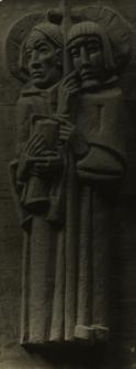 Berlin : Adlersshof [płaskorzeźby apostołów Jakuba i Tomasza]