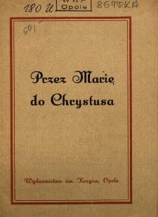 Przez Marię do Chrystusa