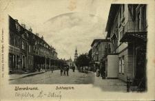 Cieplice : plac przed pałacem Schaffgotschów