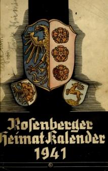 Heimatkalender des Kreises Rosenberg Oberschlesien, 1941