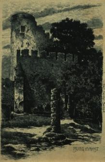 Chojnik : widok na zamek